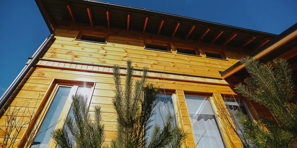 Проект дома шале из клееного бруса Skokovo Chalet - 1
