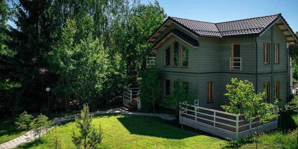 Проект дома из клееного бруса Skokovo Villa - 1