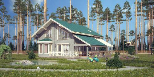 Проект дома Nesta - 1