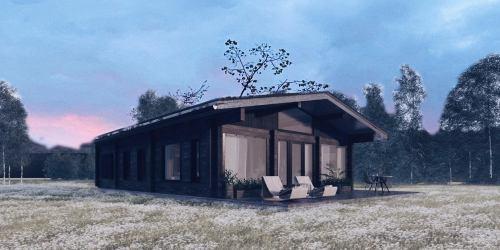 Дом из клееного бруса «One 82» - фото 1